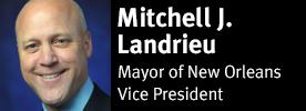 Mayor Mitchell J. Landrieu of New Orleans, Vice President